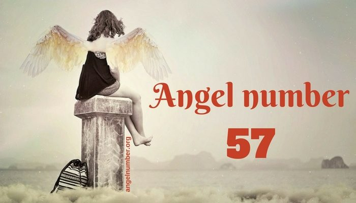 Angel Number 57.